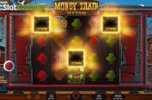 Win Screen. Money Train (Relax Gaming) (Video Slot from Relax Gaming)