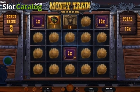 Bonus Game 3. Money Train (Relax Gaming) (Video Slot from Relax Gaming)