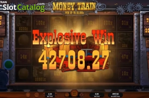 Total Win. Money Train (Relax Gaming) (Video Slot from Relax Gaming)
