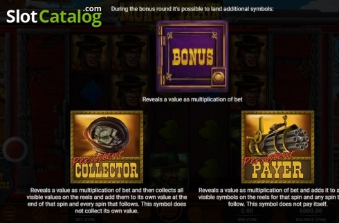 Bonus Symbols. Money Train (Relax Gaming) (Video Slot from Relax Gaming)