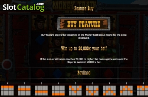 Buy Feature. Money Train (Relax Gaming) (Video Slot from Relax Gaming)