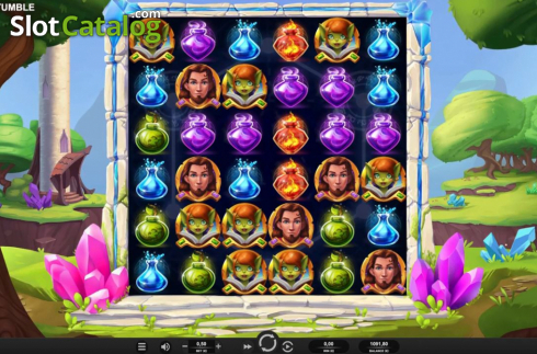 Reel Screen. Tower Tumble (Video Slot from Relax Gaming)