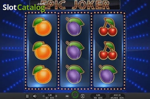 Reel Screen. Epic Joker (Video Slot from Relax Gaming)