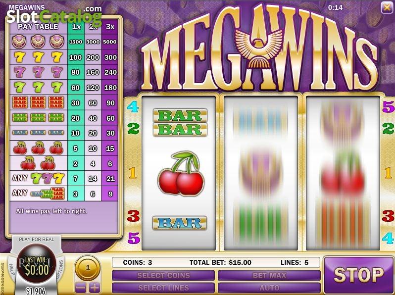 megawins casino no deposit bonus 2019