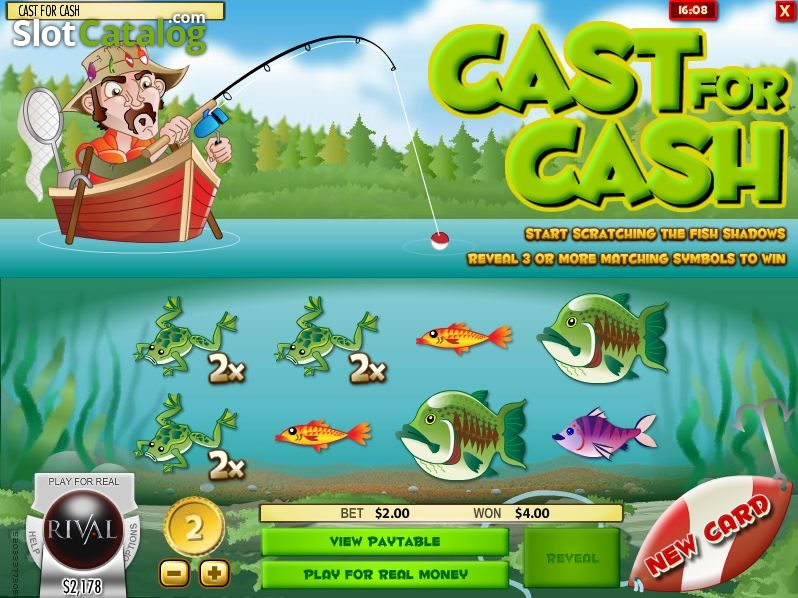 Cast for Cash Scratch and Win Slot Review, Bonus Codes & where to play from  United Kingdom