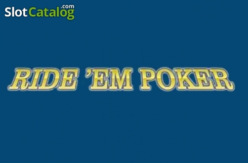 Ride 'Em Poker (Rival) (Jeu de cartes de Rival Gaming)