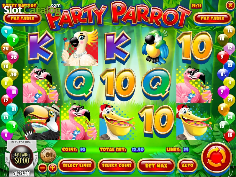 Spiele Party Parrot - Video Slots Online