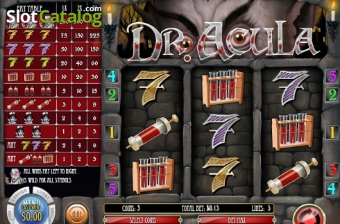 Dr. Acula Video Slot from Rival Gaming