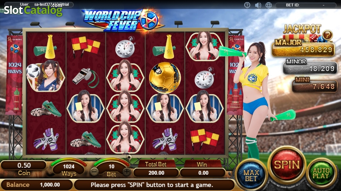 Spiele World Cup Fever - Video Slots Online