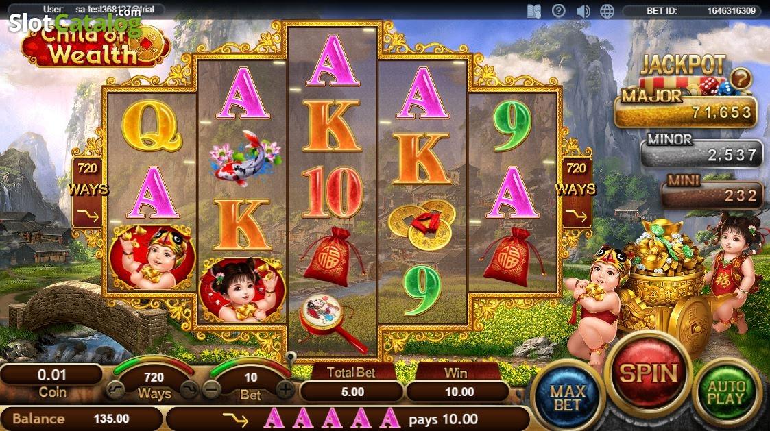 Spiele Child Of Wealth - Video Slots Online