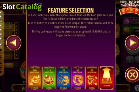 Features. Jin Ji Bao Xi: Endless Treasure (Video Slot from SG)