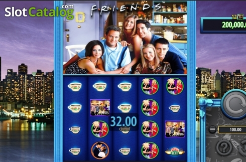 Game workflow 2. Friends (SG) (Video Slots from SG)