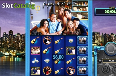 Game workflow 3. Friends (SG) (Video Slots from SG)