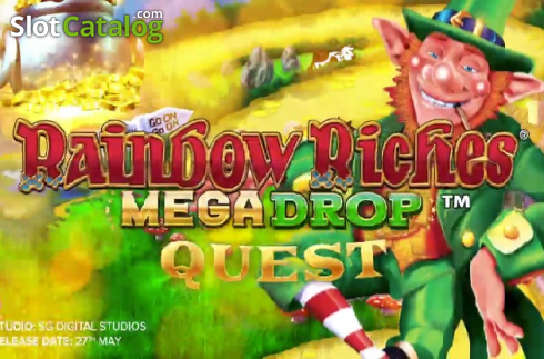 Rainbow Riches Mega Drop Quest (Video Slot a partire dal Barcrest)