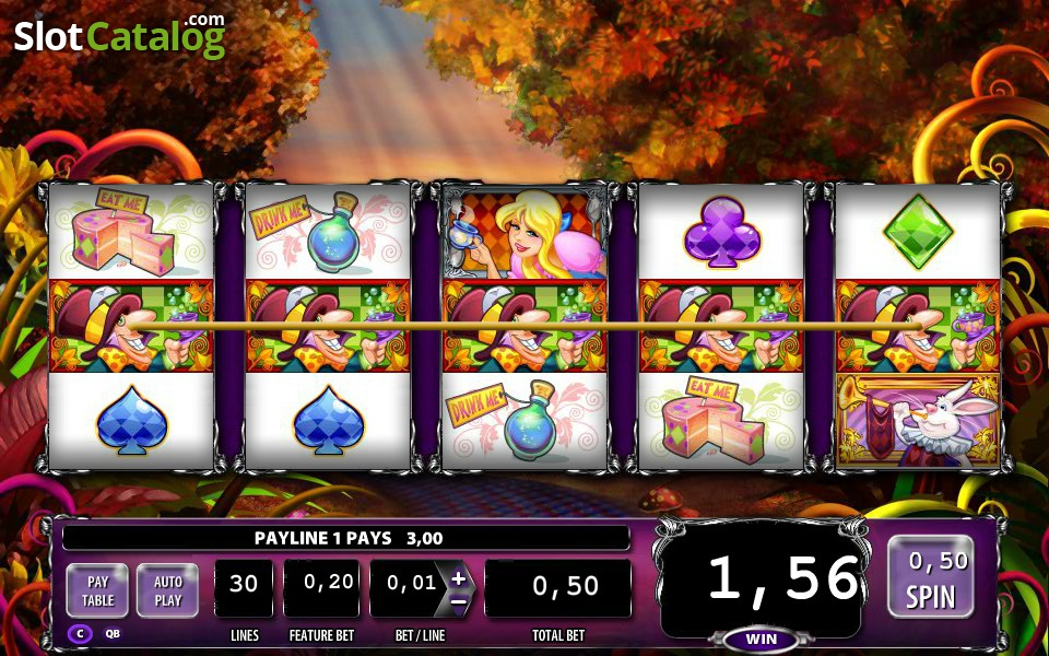 alice and the mad tea party casino