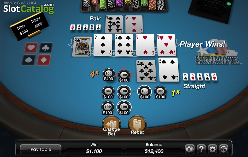 Ultimate Texas Hold Em Game