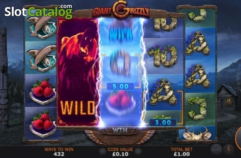 Feature 2. Giant Grizzly (Video Slot from SUNFOX Games)