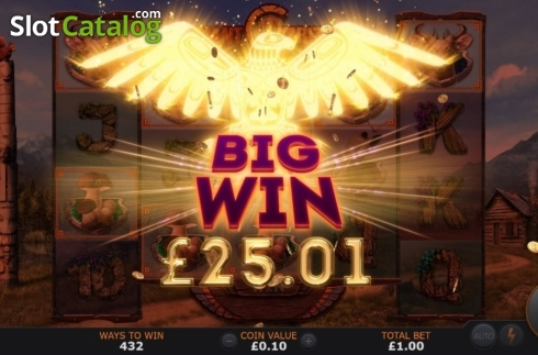 Big Win. Giant Grizzly (Video Slot from SUNFOX Games)
