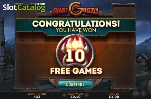 Free Spins 1. Giant Grizzly (Video Slot from SUNFOX Games)