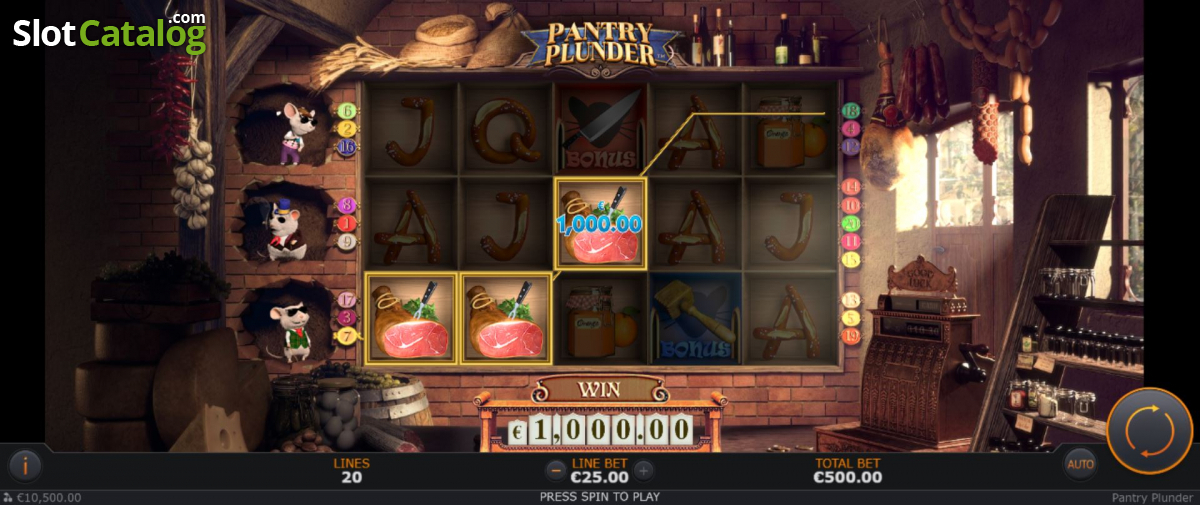 Spiele Pantry Plunder - Video Slots Online