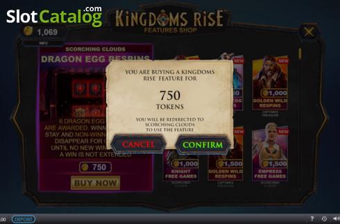 Spiele Kingdoms Rise: Scorching Clouds - Video Slots Online