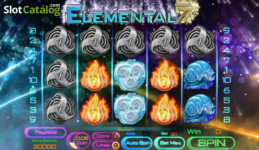 Spiele Elemental Beasts - Video Slots Online