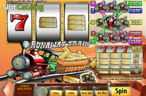 Runaway Train (Classic Slot from Saucify)