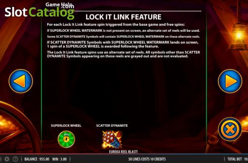 Eureka Reels Blast Superlock Slot ᐈ Claim A Bonus Or Play For Free