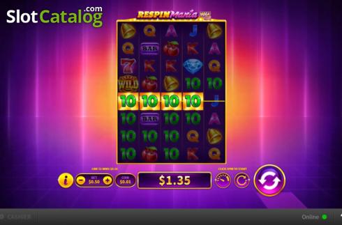 Respin Mania Mega Reels Slot Review Play For Free