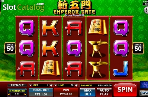Màn2. Emperor Gate SA (Video Slot từ Spadegaming)