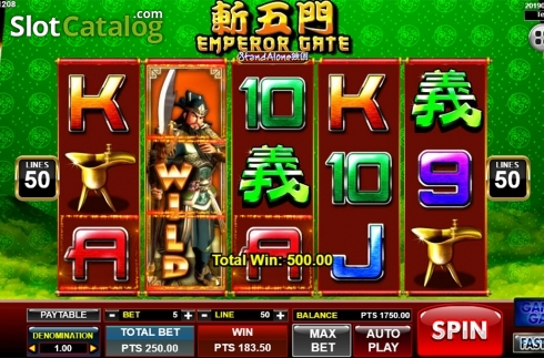 Màn3. Emperor Gate SA (Video Slot từ Spadegaming)