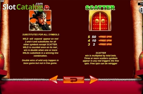 Màn7. Emperor Gate SA (Video Slot từ Spadegaming)