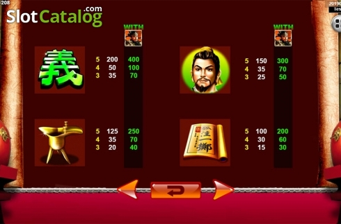 Màn8. Emperor Gate SA (Video Slot từ Spadegaming)