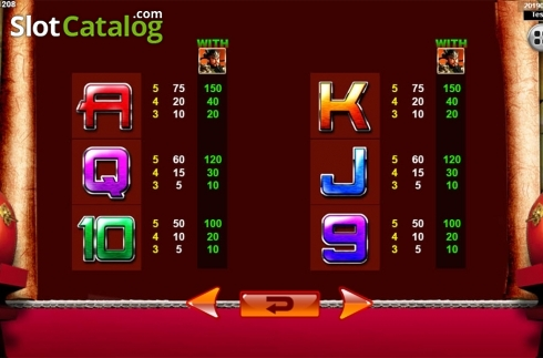 Màn9. Emperor Gate SA (Video Slot từ Spadegaming)