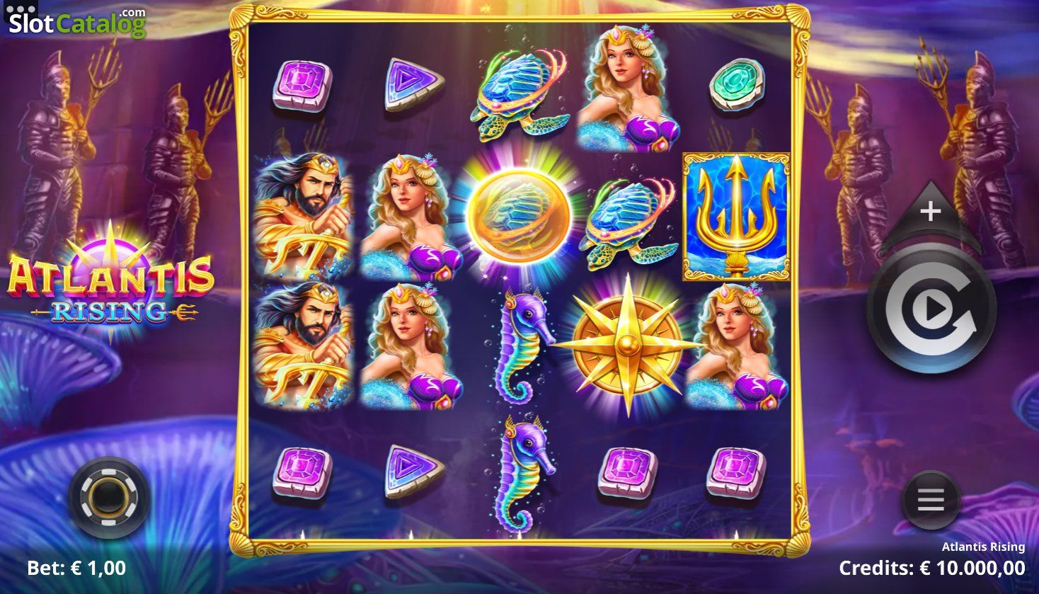 Atlantis Rising Slot ᐈ Review, RTP, Variance. Play for Free ?