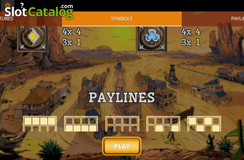 Paytable 2. Madame Moustache (Video Slots from Spinmatic)