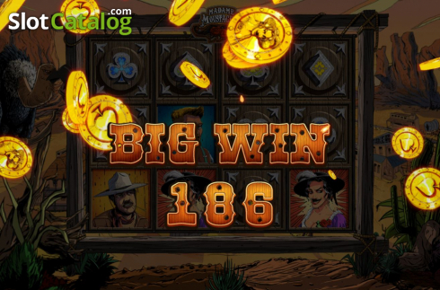Big Win. Madame Moustache (Video Slots from Spinmatic)