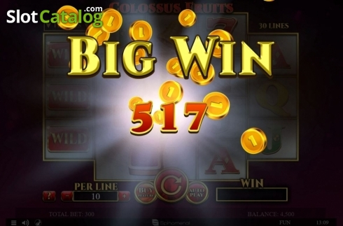 Màn3. Colossus Fruits (Video Slot từ Spinomenal)
