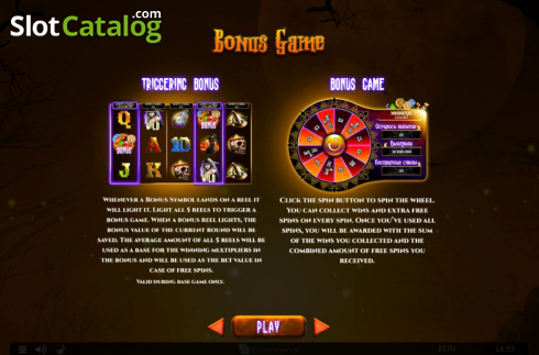 Features 2. Spinoween (Video Slot from Spinomenal)
