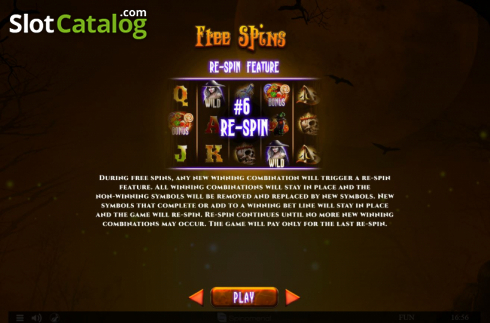 Features 3. Spinoween (Video Slot from Spinomenal)