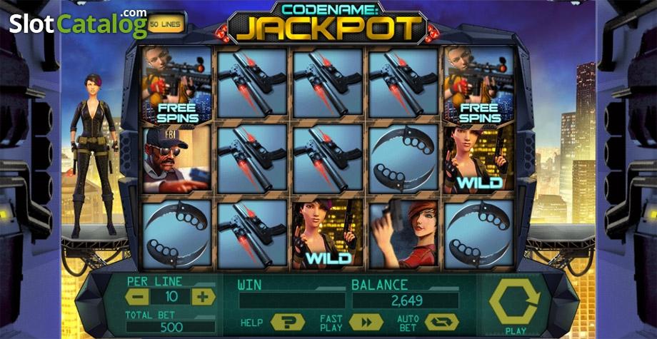 Codename jackpot slot machine online spinomenal Aksaray