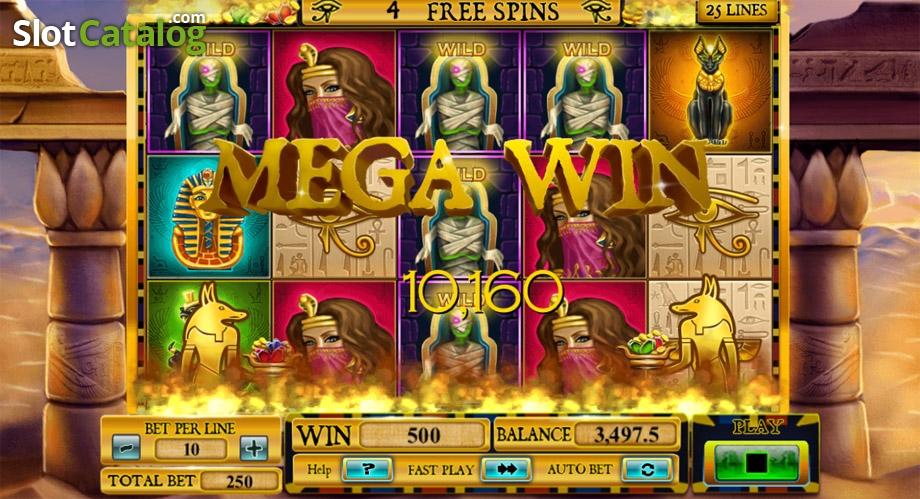 Egyptian Rebirth Slot Machine