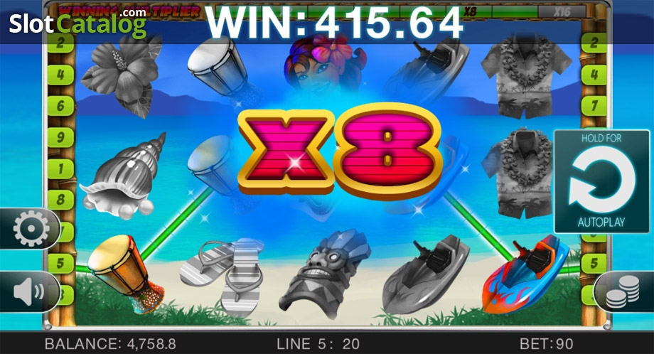 Spiele Hawaii Vacation - Video Slots Online