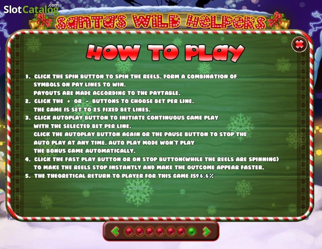 Spiele Santa Wild Helpers - Video Slots Online