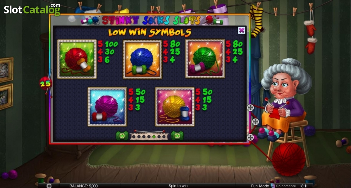 Spiele Stinky Socks - Video Slots Online