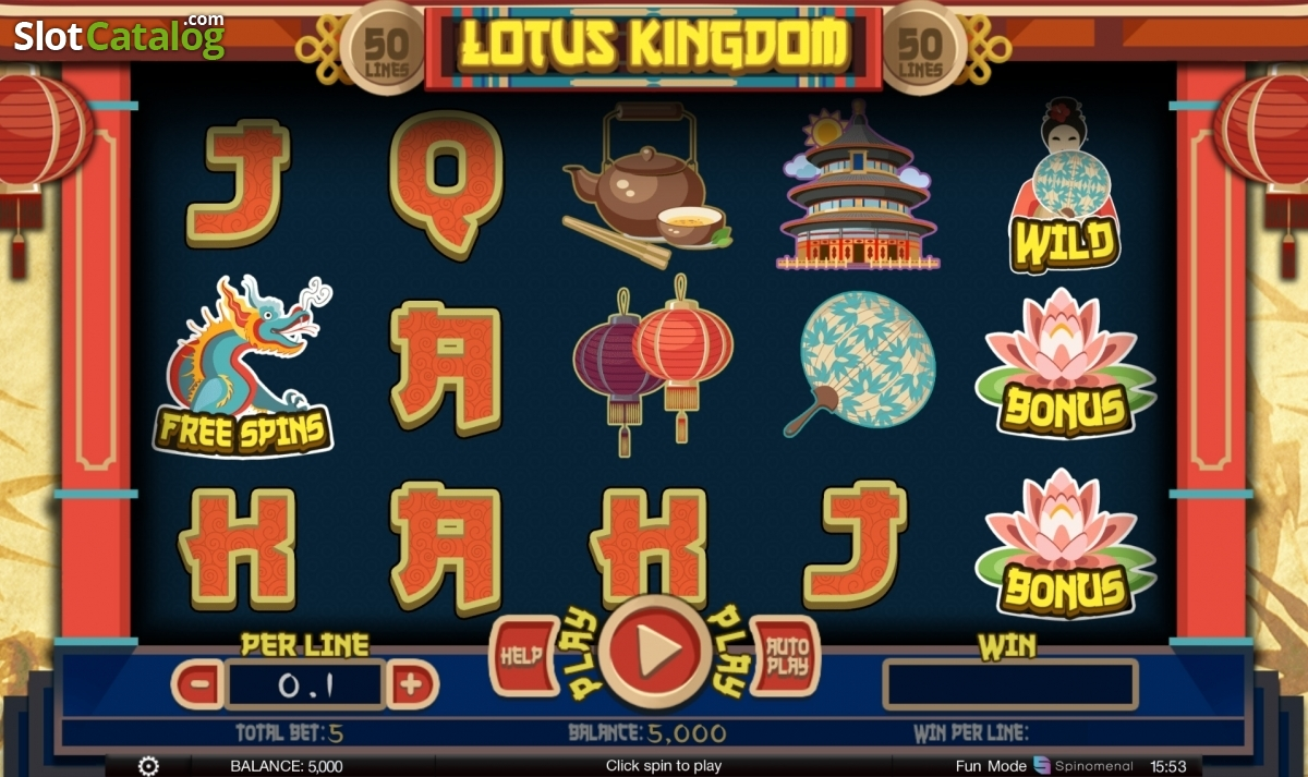 Review Of Lotus Kingdom Video Slot From Spinomenal Slotcatalog