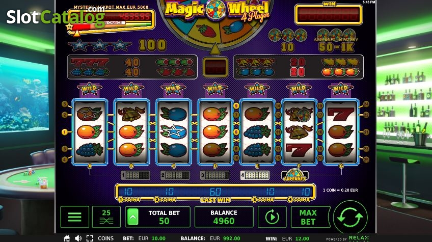 Free Slots Magic Wheel
