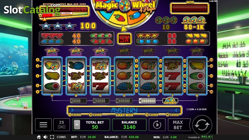 Free Slots Magic Wheel