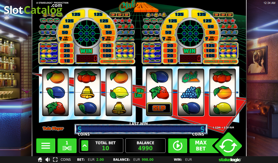 Club 2000 Slot - Play the Stake Logic Casino Game for Free