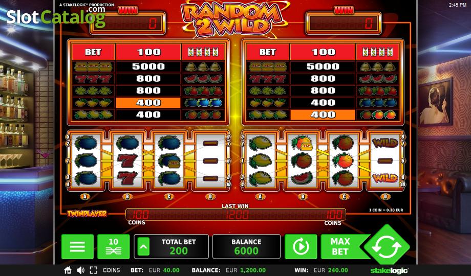 Random Wilds - Online-Slots mit Random Wilds